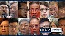Hong Kong arrests