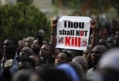 Nigeria Thous Shalt Not Kill