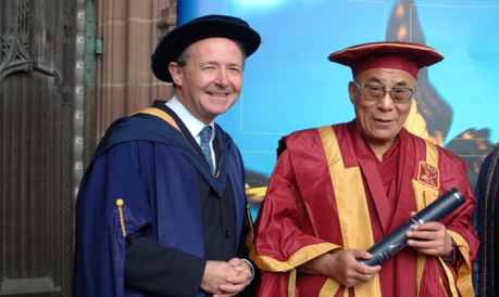 2004 David with Dalai Lama