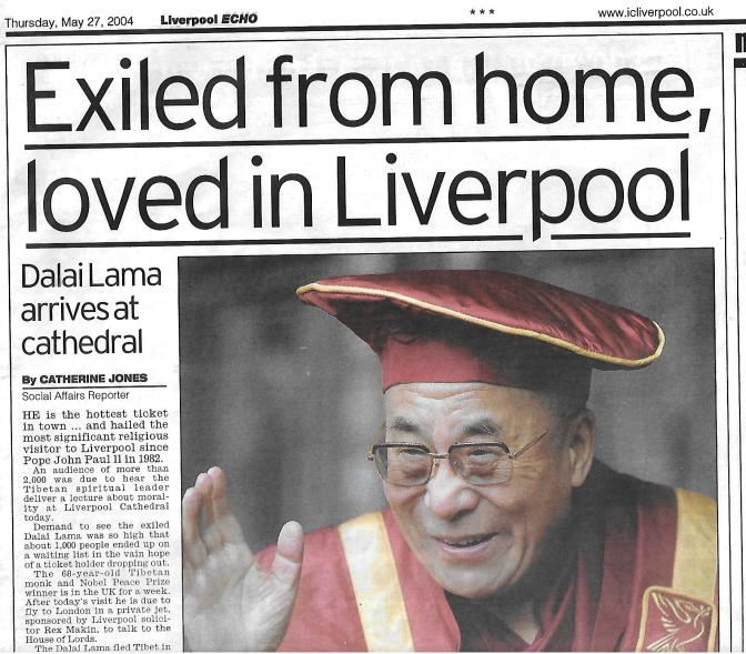 2004 Visit of the Dalai Lama 8